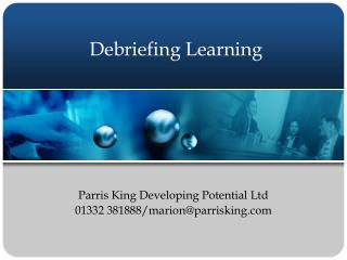Debriefing Learning