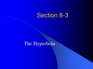 Section 8-3