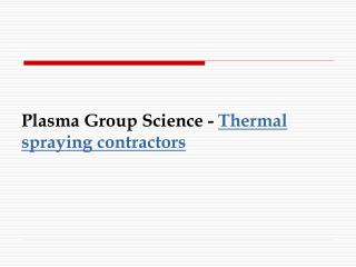 Thermal spray coatings | corrosion resistant coating | heat