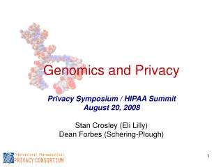 Genomics and Privacy
