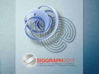 What is SIGGRAPH?