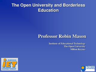 The Open University and Borderless Education