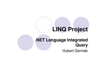 LINQ Project