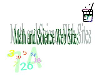 Math and Science Web Sites