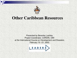Other Caribbean Resources