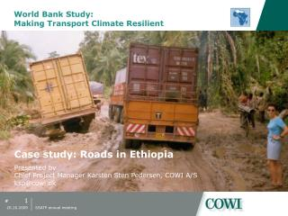 World Bank Study:  Making Transport Climate Resilient