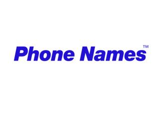 Dialling phone names from BlackBerry devices: