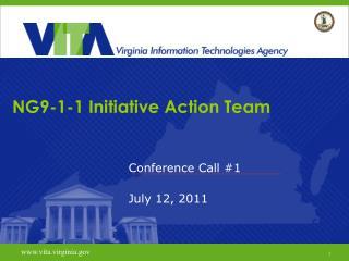 NG9-1-1 Initiative Action Team