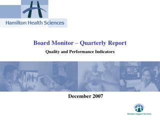 Board Monitor – Quarterly Report