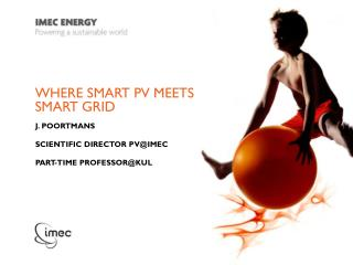 Where Smart PV meets smart grid