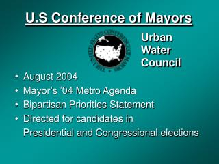 U.S Conference of Mayors