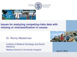Issues for analyzing competing-risks data with  missing or misclassification in causes