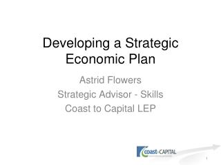 Developing a Strategic Economic Plan