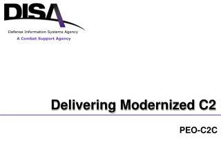Delivering Modernized C2