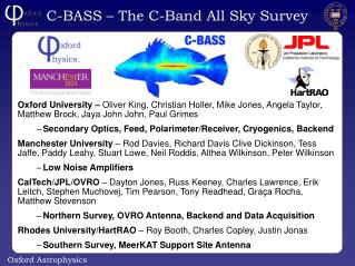 C-BASS – The C-Band All Sky Survey