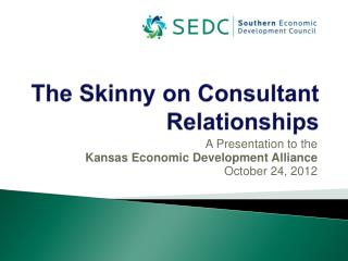 The Skinny on Consultant Relationships
