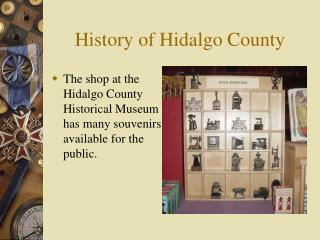 History of Hidalgo County