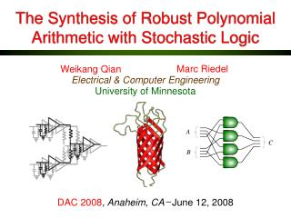 The Synthesis of Robust Polynomial Arithmetic with Stochastic Logic