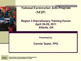 National Farmworker Jobs Program (NFJP)
