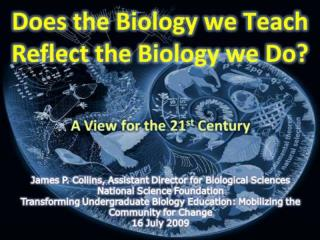 Board on Life Sciences A New Biology for the 21 st  Century