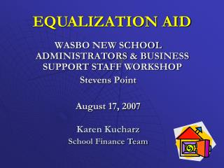 EQUALIZATION AID