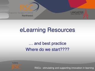 eLearning Resources