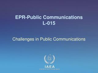 EPR-Public Communications L-015