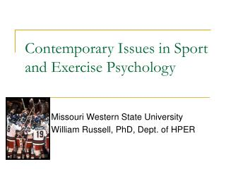 Contemporary Issues in Sport and Exercise Psychology