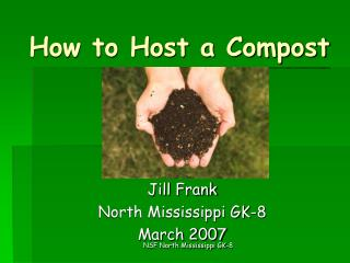 How to Host a Compost