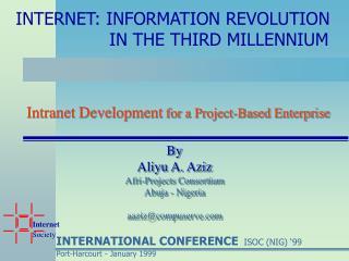 Intranet Development for a Project-Based Enterprise