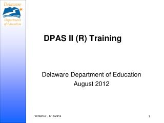 DPAS II (R) Training
