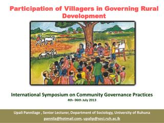 Participation of Villagers in Governing Rural Development
