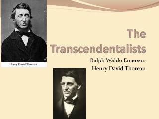 a comparison of ralph waldo emerson and henry david thoreau in philosophy Ralph waldo emerson (1803 and his friend and protegé henry david thoreau the selected writings of ralph waldo emerson by ralph waldo 1803.