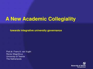 A New Academic Collegiality