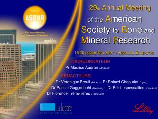 29 th  Annual Meeting