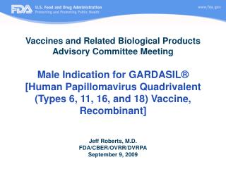 Vaccines and Related Biological Products Advisory Committee Meeting