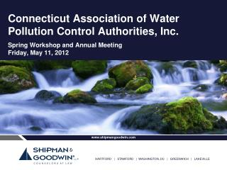 Connecticut Association of Water Pollution Control Authorities, Inc.
