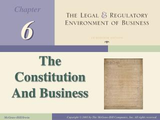 The Constitution And Business