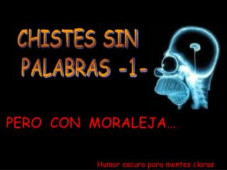 CHISTES SIN   PALABRAS -1-