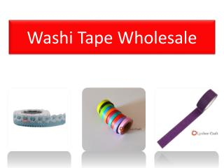 Best Online Resource of Washi Tape Wholesale