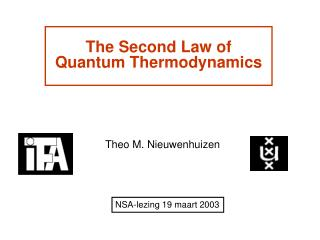 The Second Law of Quantum Thermodynamics