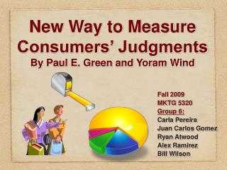 New Way to Measure Consumers' Judgments By Paul E. Green and Yoram Wind