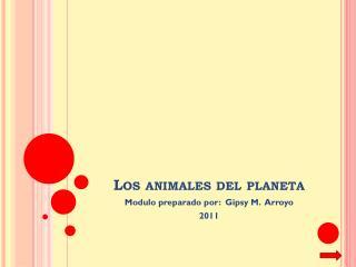 Los  animales  del  planeta