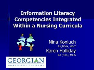 Information Literacy Competencies Integrated Within a Nursing Curricula