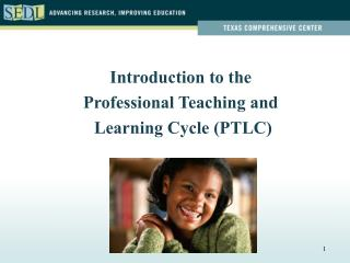 Introduction to the Professional Teaching and  Learning Cycle (PTLC)
