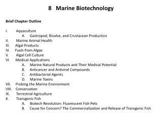 8 Marine Biotechnology