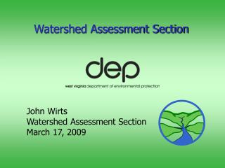 Watershed Assessment Section