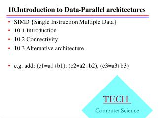 10.Introduction to Data-Parallel architectures
