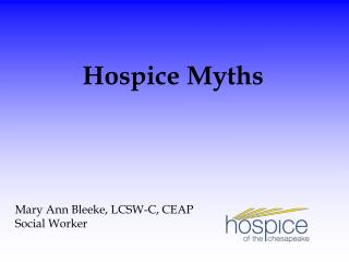 Mary Ann Bleeke, LCSW-C, CEAP Social Worker