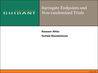 Surrogate Endpoints and Non-randomized Trials